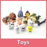 action children - New Movie The Secret Life of Pets Action Figures set cm Toy Model Children Toys