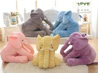 Wholesale 2017 Most Popular baby animal elephant pillow Feeding Cushion Bedding Decoration for kids and girls