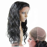 Wholesale Brazilian body wave Full lace wigs Hair B human hair Glueless full lace wig for Black Women quot quot