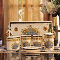Wholesale Wash gargle suit European ceramics tray
