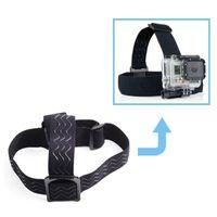 Wholesale GoPro Accessories Elastic Adjustable Head Strap Mount for Gopro Hero SJCAM SJ4000 SJ5000 SJ5000X Xiaomi Yi sport Camera