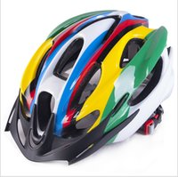 Wholesale New sports bicycle helmet ultralight unisex breathable mountain bicycle helmet to ride a bicycle helmet colors