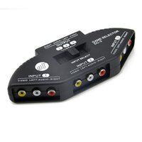 Wholesale Hot selling Load Audio video Switch with RCA cables good quality switch splitter