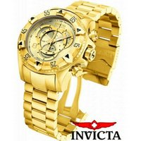 Wholesale Fashion Mens gold watch high grade gold quartz clocks male relogio gifts for men