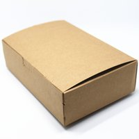 bakery candle - 18 cm Vintage Kraft Paper Event Box For Candy Snack Bakery Gift Candle Package Brown Craft Paper Packing Boxes