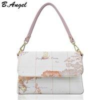 High Quality World Map Women Bag Mode Femmes Messenger Bags Brand Designer Sac à main High Capacity Shoulder Bag HC-W-706