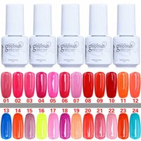 Wholesale Gelish Nail Polish Gel UV Gel Metallic Mirror Effect Soak Off Nail Lacquer Brand New Top Quality Long lasting Colors