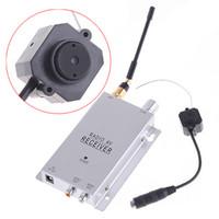 Wholesale Wireless Ghz TVL Color Surveillance Security Camera CMOS CCTV Camera Monitor With Radio AV receiver