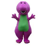 barney dresses - Factory direct sale Hot New Profession Barney Dinosaur Mascot Costumes Halloween Cartoon Adult Size Fancy Dress