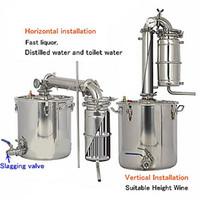 alcohol label - M13 BX6045 L High Quality Private label OEM fermenting process home wine making alcohol distiilling machine moonshine stills