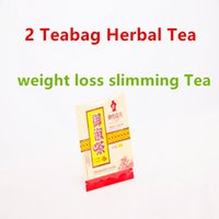 Wholesale 2 Teabag g top grade chinese organic herbal Teabags colon cleanser green tea constipation relief relaxing bowels weight loss slimming Tea