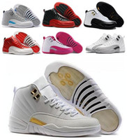Wholesale OVO Retro XII Basketball Shoes Sneaker Women Men Taxi Playoffs Gamma Blue Grey Sports Retros Shoes J12s Replicas Size US5