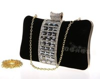 Wholesale New Brand In Stock High Quality Evening Bags Handbags Party Handbag Red Grape Black Apricot Fuchsia Royal Blue cm Cheap Price