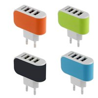 Wholesale Portable USB Port EU US Plug Wall Charger Travel AC Power Adapter For iPhone Samsung Xiaomi Lenovo Phone Accessories