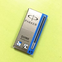 Wholesale Ink Cartridge Blue Ink Pen refills High Quality Suit for For Writing