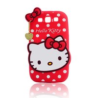 apple kitty - Hello Kitty Silicone Case J7prime J5prime T110 T111 T116 IPAD MINI IPAD Cell Phone Cover for iPhone PLUS plus Mobile Phone Accessories