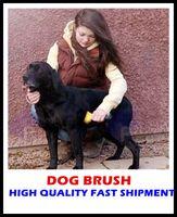 Wholesale 20pcs New Pet brush Dog brush Cat Brush Grooming Yellow Long Hair Short Hair Expert deshedding Edge Designer inch