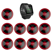 Wholesale SINGCALL Wireless Calling system One mobile watch and one button for restaurant hotel entertainment places