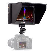 Wholesale Viltrox DC II Clip on Color TFT HD LCD Monitor Display HDMI AV Input for Canon Nikon Sony DSLR Camera BMPCC DHL