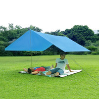 awnings and canopies - Hot m Multifunction Outdoor Waterproof Camping Tent Rainproof Beach Fishing Awning Canopy Tarp Park Sunshade Tarp MA0162