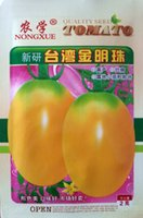 bag taiwan - Vegetable seeds New research Taiwan golden pearl tomato seeds Import yellow cherry tomatoes Small tomato g bag bags per