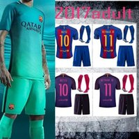 Wholesale DHL Mixed buy Barcelona kit socks t shirts futbol shirts BARCELONA JORDI ALBA Jersey SUAREZ BARTRA BUSQUETS MESSI Jersey shirt