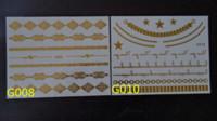 band tattoos designs - Golden tattoo star arabic tattoos designs of naked women arm band fake golden tattoo