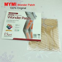Wholesale 18Pcs Box Slimming Patch Leg and Hand Lose Weight Mymi Wonder Patch Lower Body Treatment Slim Patch Cream Plaster C095