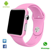 age paint - Bluetooth Smart Watch G10A paint pink wristwatch Inch LCD MP Camera support sim card Smartwatch for smartphone