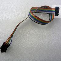 altera jtag programmer - JTAG IDC ISP Wire to Pin Cable FC P mm for Saleae Logic Analyzer Xilinx Altera Lattice FPGA CPLD USB Programmer