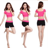 Wholesale Nine dance yoga clothes suit female spring and summer modal Slim was thin Dance Workout clothes and jogging suits colors optional