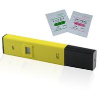 Wholesale Portable Digital PH Meter Tester Accurate Digital PH Pocket LCD PH Value Test Pen PH Tester for Aquarium Pool Laboratory