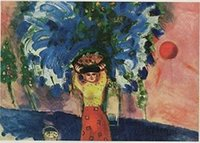 Жатва, 1910 по Шагала, верхнее качество Подлинная расписанную Портрет Искусство Картина маслом на холсте подгонять размер