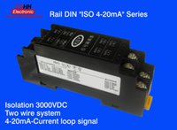 analog signal isolator - lead rail mA isolator safety barrier Analog signal acquisition passive mA signal isolation Signal extension