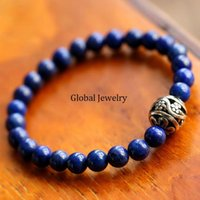 afghanistan lapis - A Imperial Green High Performance Afghanistan lapis lazuli bracelet bracelet transfer