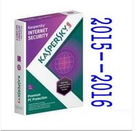 Cheap Kaspersky security software 2016 2015 2017 English version 1 year 1user genuine anti-virus software activation