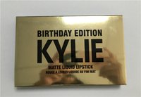 Wholesale Hot New Kylie Jenner Lipkit In LEO Limited Birthday Edition mini kit CONFIRMED Matte Lipstick High Quality