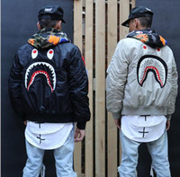 autumn and winter trends - autumn and winter fashion trend of the street wgm embroidery for shark ma1 teenage air force jacket outerwear coat