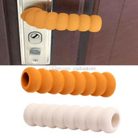 Wholesale Children Safety Door Handle Knob Bumper Cushion Protective Cover Screw Type L00063 SPDH