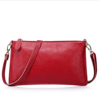 Wholesale summer collection women clutches new fashion genuine leather bags cross body bag with single shoulder strap chain CH800043