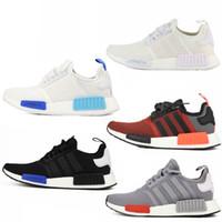art fur - Adidas Original NMD R1 Primeknit Runner PK Hot Sale Men s Women s Classic Cheap Fur Sneakers Fashion Sport Running Shoes With Boxe