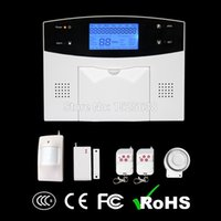 alarm control panel wiring - gsm quad band MHZ rfid alarm panel kit with remote control