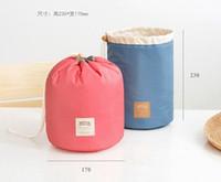 aluminum beauty cases - 2Colors For Choice Barrel SIZE CM Lady s Women Handbag Cosmetics Bag Holder Pouch Makeup Beauty BIG Storage BAG BOX Case