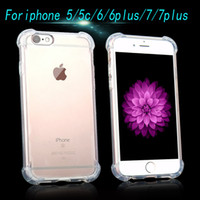 apples cushion - High Quality Shockproof Air Cushion Crystal Clear TPU Soft Case Cover Skin For Iphone plus s plu s