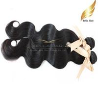 al por mayor tramas de extensión de pelo a granel-El pelo brasileño barato teje las extensiones 10