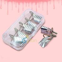 aluminum metal forming - Professional Gold Silver Foil Nail Art Form Metal Reusable Aluminum Nail Forms