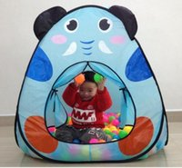 Wholesale 2016 new cartoon animal children tent Foldable Kids Game Play Toys Tent Indoor Outdoor Children Play Tents