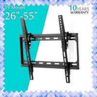 Flat Panel TV fixe Mont HDTV Mont TV mural 26 32 39 40 42 50 55 pouces pour écran LCD LED écran 01