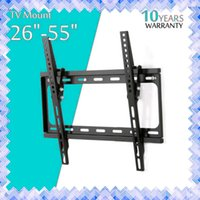 Flat Panel Tv Fixed Mount HDTV Mount TV Support mural 26 32 39 40 42 50 55 pouces pour écran LCD LED 01