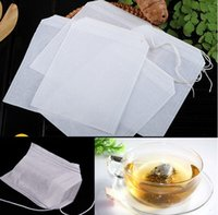 Wholesale 5000X Empty Teabags Tea Bags String Heal Seal Filter Paper Teabag x CM for Herb Loose Tea